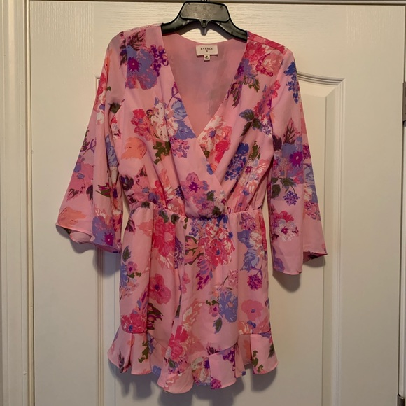 Everly Other - Floral Romper